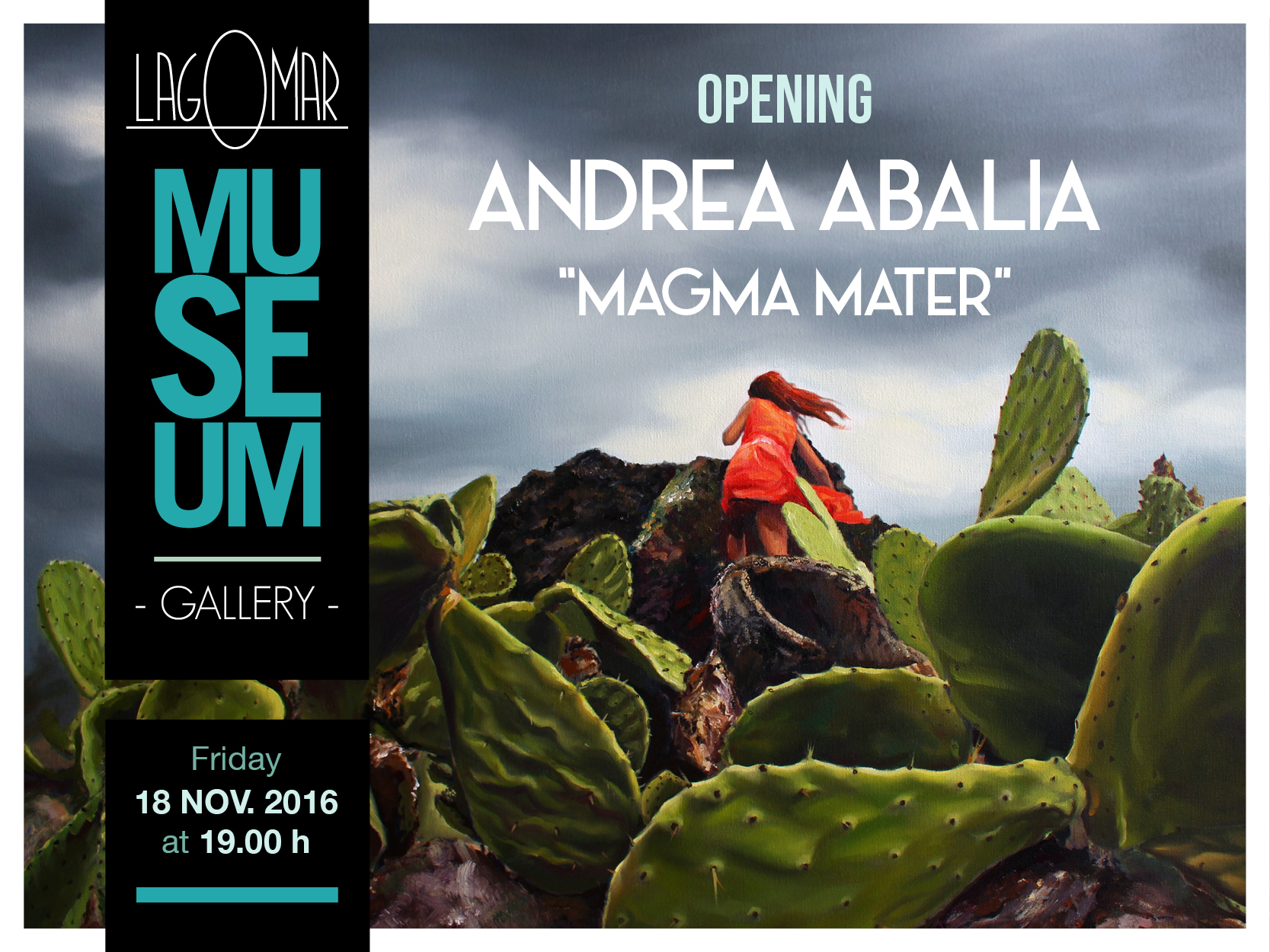 Invitation Exhibition Andrea Albalia